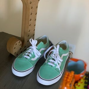 Vans Neptune Green Old Skool Sneaker NWT